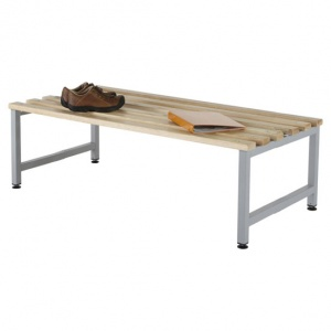 Budget KD Double Sided Cloakroom Bench