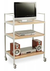 EF8115 TV & Video Trolley with 3 Shelves