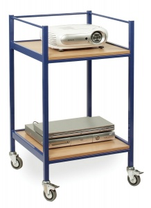 EF8119 TV & Video Trolley with 2 Shelves