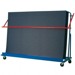 School Gym Inclined Vertical Mat Trolley