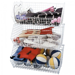 School Sports Storage Bins (Set of 3)