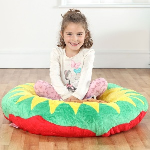 Back to Nature™ Petal Sunflower Giant Floor Cushion