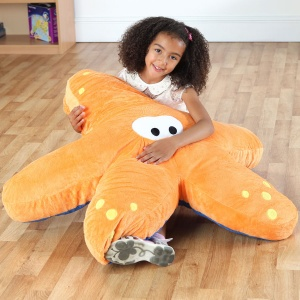 Under the Sea™ Twinkle Starfish Giant Floor Cushion
