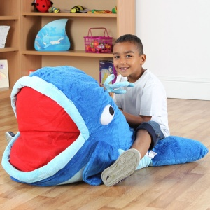 Under the Sea™ Moby Whale Giant Floor Cushion
