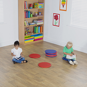 Circular Indoor / Outdoor Mats - Pack of 10