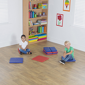 Folding Indoor / Outdoor Mats - Pack of 10