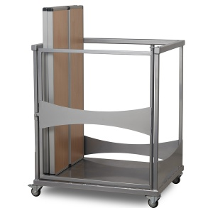 Fast Fold Folding Table & Bench Trolley
