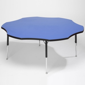 Tuf-Top™ Height Adjustable Flower Table - Blue