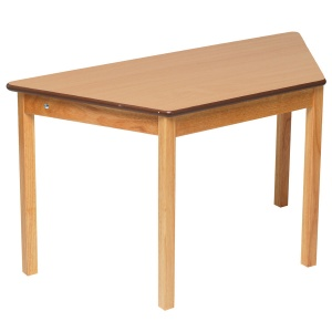 Tuf Class™ Trapezoidal Table - Beech