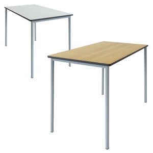 Grade™ Rectangular Classroom Table + PU Edge
