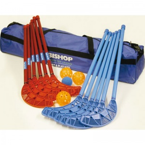 Play-Hok® Set Junior - Blue & Red Sticks