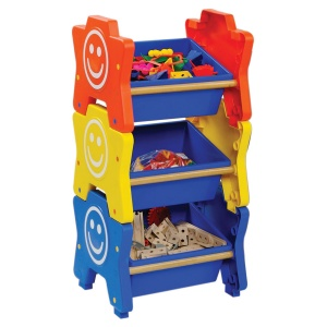 ''HappyStack® Mini'' Early Years Storage - 3 Tray