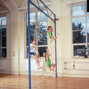 Gym Fixed Hinged Rope Frame