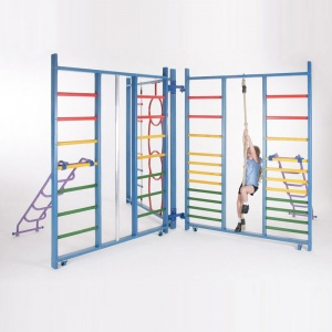 School Gym Kaleidoscope Indoor Climbing Frame