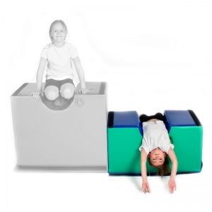 Jump for Joy™ Softplay Small Bridge