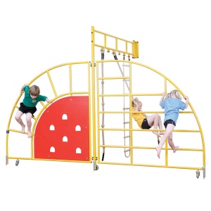 School Gym Centre Fixed Indoor Climbing Frame