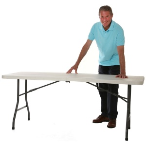 Poly-Centre-Folding Table 1830 x 760mm