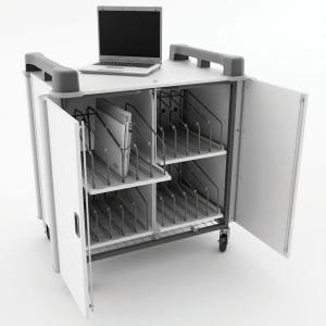 LapCabby 20 Port Vertical Laptop Trolley
