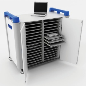 LapCabby 32 Port Horizontal Laptop Trolley