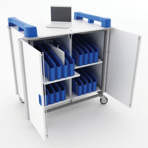 LapCabby 32 Port Mini Laptop Trolley