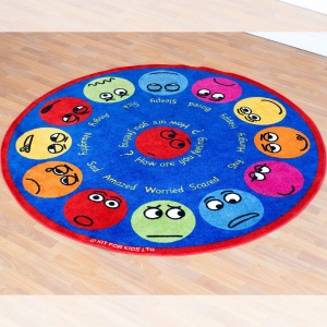 Emotions™ Interactive Circular Placement Carpet