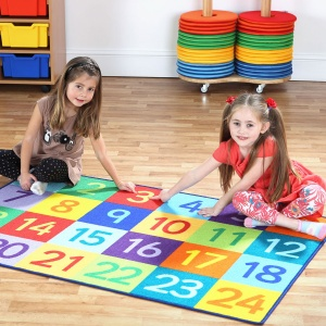 Rainbow™ 1-24 Numbers Carpet