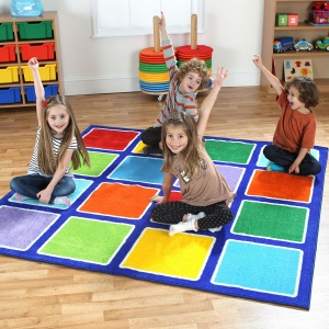 Rainbow™ Square Placement Carpet