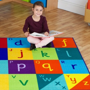 Rainbow™ Alphabet Carpet