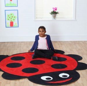 Back to Nature™ Ladybird Shaped Indoor Carpet