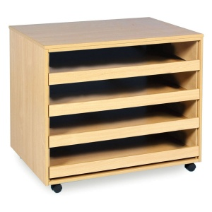4 Drawer Open Paper Store