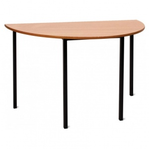 Advanced Half-Round Classroom Table