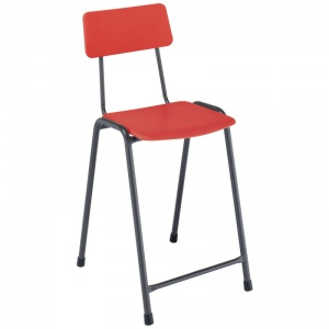 Remploy MX05 Classic School Craft & Lab Stool + Backrest