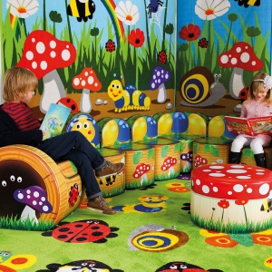 Natura™ Caterpillar Children's Soft Seating