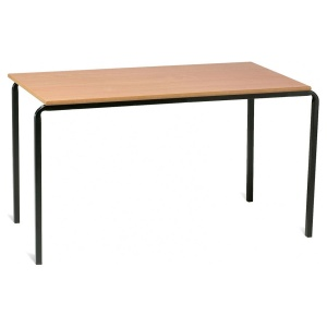 School rectangle table Daycare Center Advanced Slidestacking Rectangular Classroom Table Smith System Rectangular School Tables
