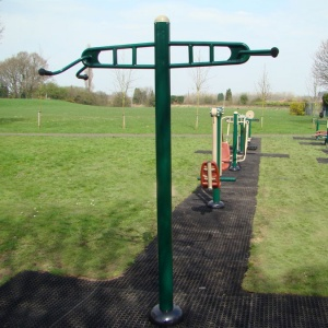 Outdoor Gym Double Pull-Up