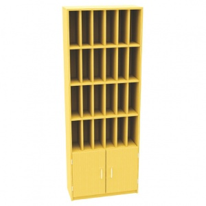 24 Hole Pigeon Post Unit + Cupboard