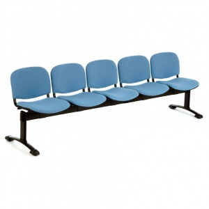 PS500 Beam Seating - 5 Seater Flat Leg