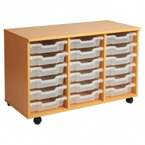 PSU6 18 Tray School Storage