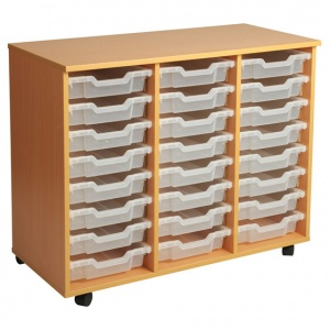 PSU8 24 Tray School Storage