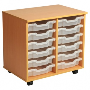 PSU6 12 Tray School Storage