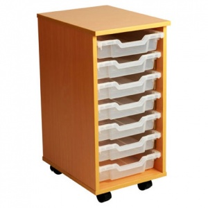 PSU7 7 Tray School Storage