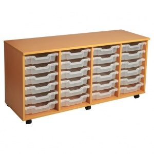 PSU6 24 Tray School Storage