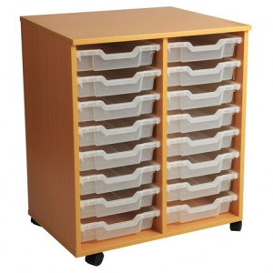 PSU8 16 Tray School Storage