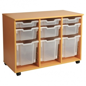 PSU7 21 Tray School Storage