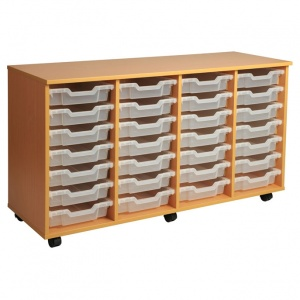 PSU7 28 Tray School Storage
