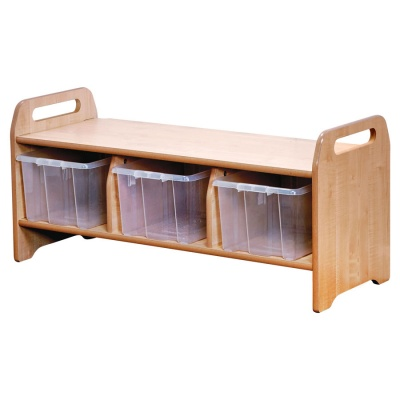 ''Welcome'' Children's Storage Bench - Large