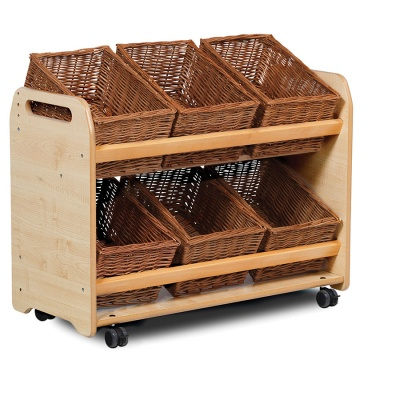 Tilt Basket Storage