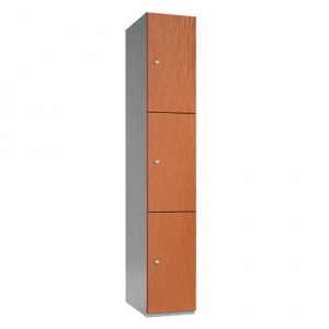 Timber Box Three Door Locker