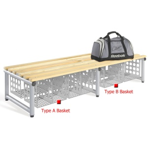 Probe Modular Bench Storage / Shoe Basket