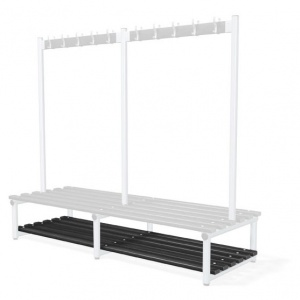 Probe Cloakroom Bench Base Shelf Slats
